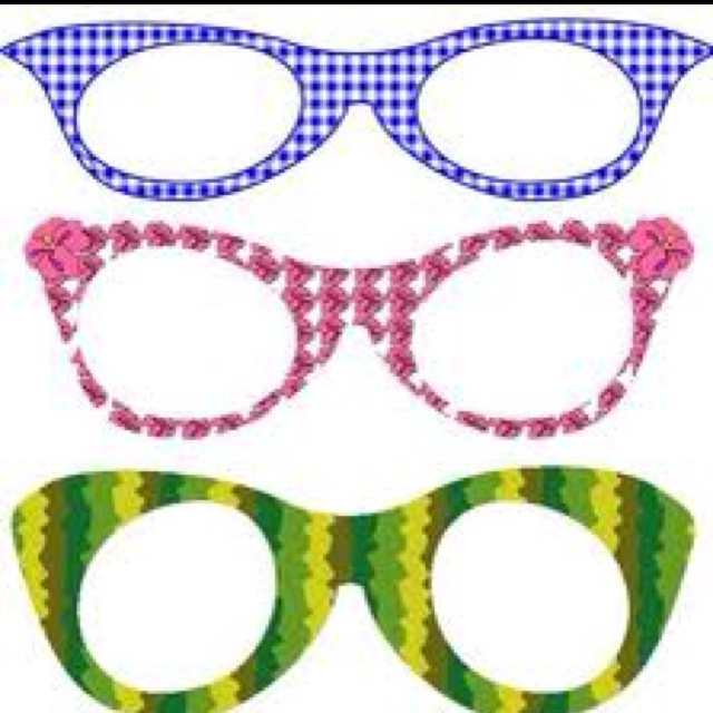 Printable funky glasses frames Classroom Crafts ...
