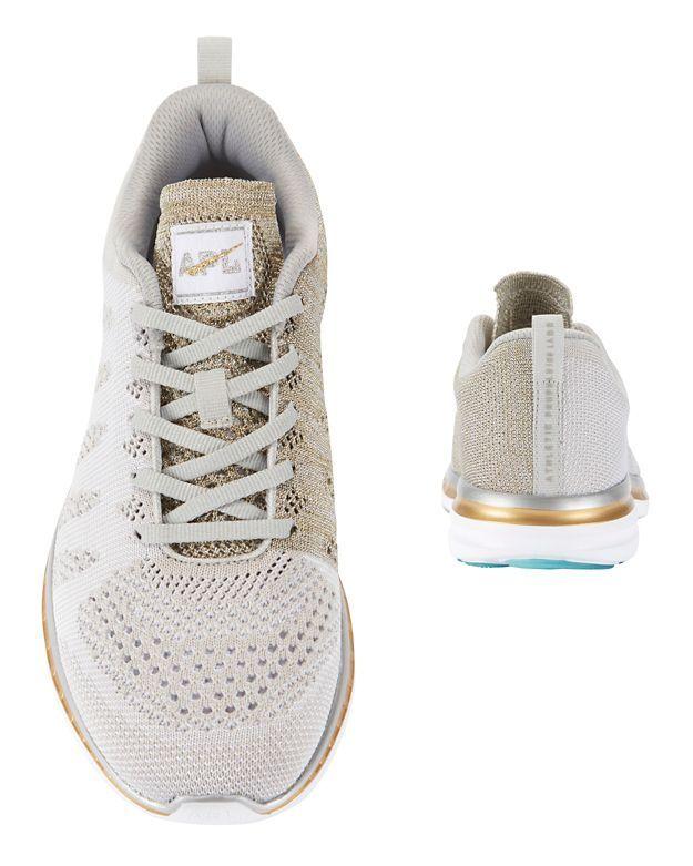 APL TechLoom Pro Metallic Melange Knit Performance Sneakers