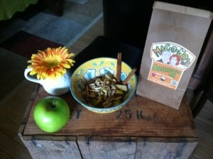 Mo's Comfy Porridge made with Mac-n-Mo's Moreslicious Mix - ask about...