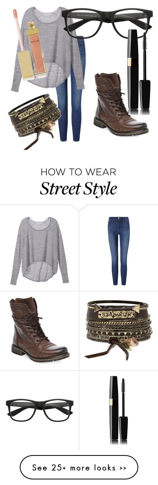 """""""You and me are golden"""" by da-muzykgirl on Polyvore featuring Frame Denim, Victoria's Secret, Steve Madden, BKE and AERIN"""