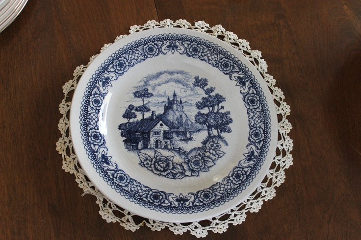 Lozapenco 9 inch plate (1 available),Southern Vintage Classic China Collection Rentals