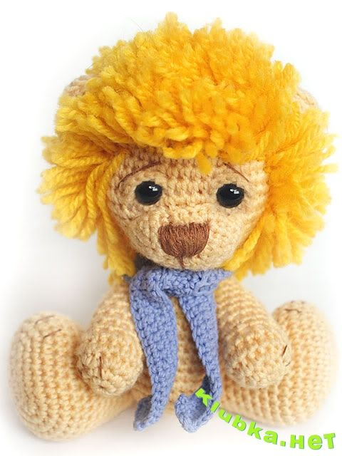 Meer dan 1000 idee?n over Crochet Lion op Pinterest - Haken ...