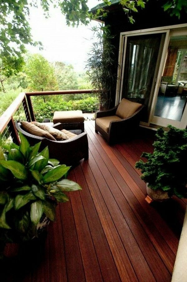 Mon beau plancher de jardin et balcon en bois