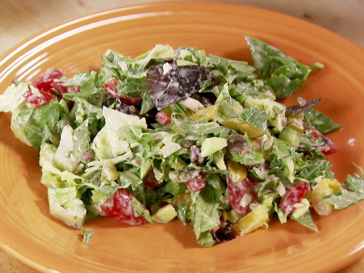 New York-Style Chopped Salad from FoodNetwork.com (Pioneer ...