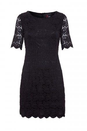 PRshots.com :: Christmas Party Dresses Black Lace Dress   Yumi