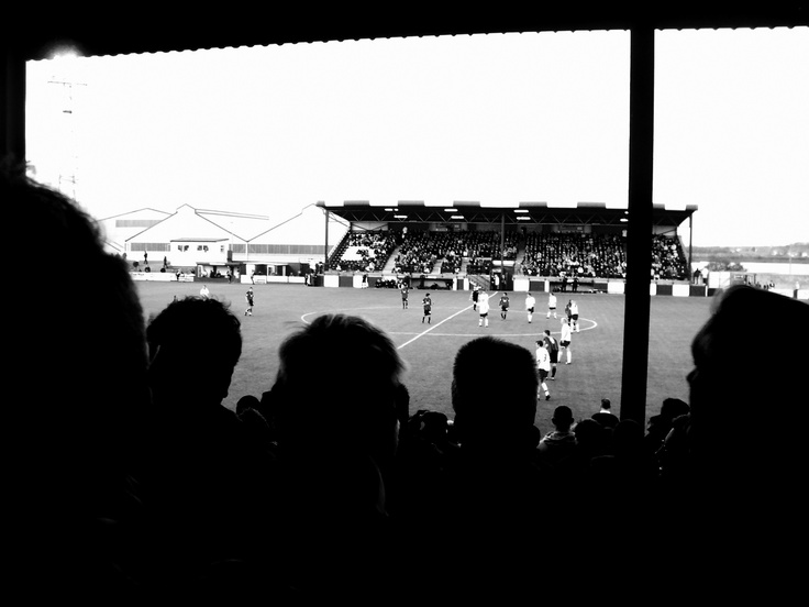 Barrow AFC - Holker Street - FA Cup #football www.redbubble.com/people/scottm6129