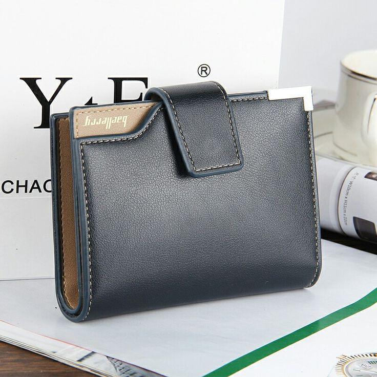 Marca de moda de Los Hombres billetera de cuero de la pu Corta bolsillo Monedero de la moneda Diseñador bolso de Mano de lujo de los hombres billetera 3 Veces Bolso Masculino tarjetas envíos gratuitos en todo el mundo