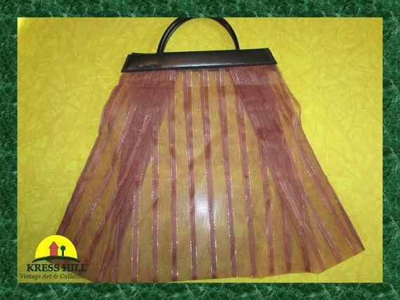 Large Purse Handbag Vintage Made in Hong Kong by KressHillVintage, $25.00