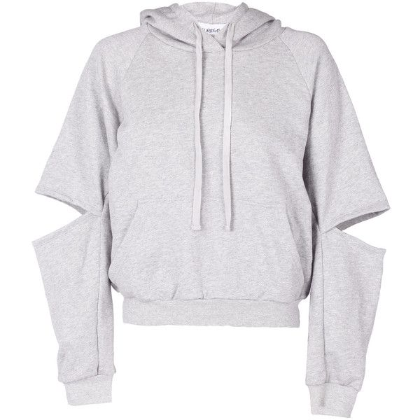 Maurie & Eve Exposure Hoodie ($105) ❤ liked on Polyvore featuring tops, hoodies, jackets, sweaters, marle, sweatshirt hoodies, sports hoodie, hoodie top, marled hoodie and sport top