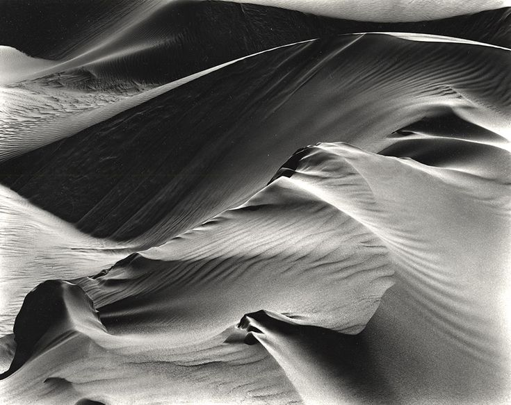 thedeathofcool:Dunes (White Sands, New Mexico, 1946)     from the [ White Sands, 1949 ] portfolio     by Brett Weston