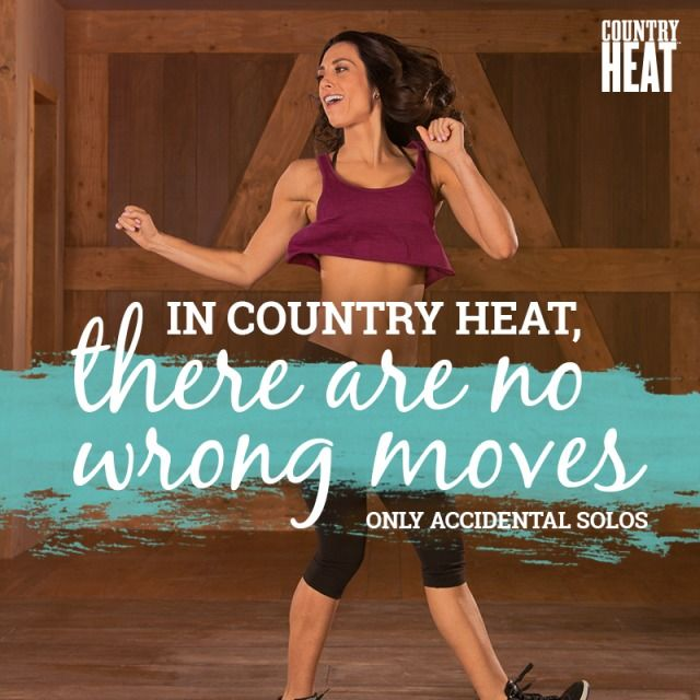 Dance to your own beat! As long as you're moving, you're doing it right.  // Country Heat // Autumn Calabrese // dance workouts // fitness // exercise // dancing  // fit fam // get fit // fitspiration // motivation // quotes // Beachbody