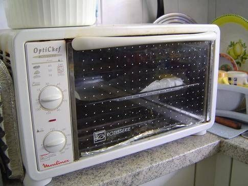 How to clean grease off of a toaster oven pan - Clean oven tray less minute ...