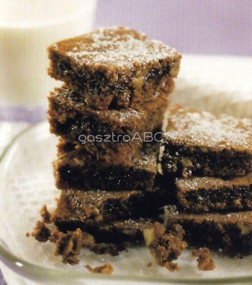 Pekándiós brownie | Receptek