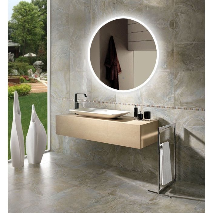 1000 Ideas About Circle Mirrors On Pinterest: Bathroom Mirrors With Lights, Mirrors And LED