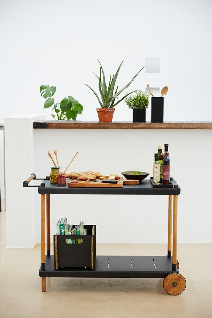 Everyone needs a Frame Trolley for their BBQ area. This trolley is Danish designed and will add style and sophistication to your outdoor kitchen. The Frame Shelving is also a fantastic addition to the outdoor Kitchen.