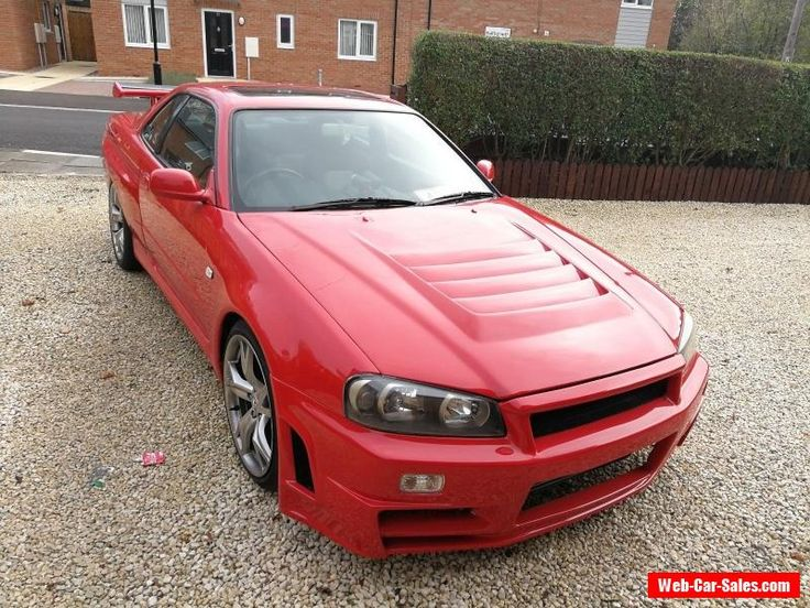 Nissan Skyline R34 GTT GTR Widebody 430BHP Show Car may swap px R35 GTR #nissan #skyline #forsale #unitedkingdom
