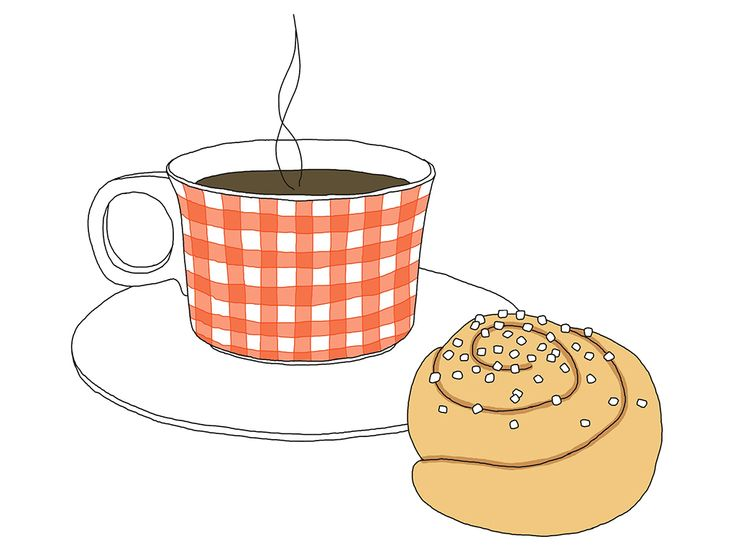Fika - the swedish coffee break. If there's one thing that brings scandinavians together, it's the relaxing and sociable concept of a hot drink and a bite to eat