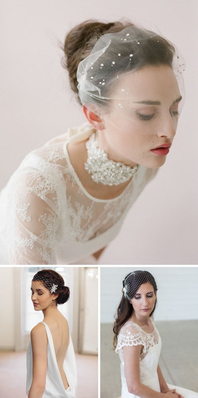How to wear a birdcage veil veil creative wedding inspiration and