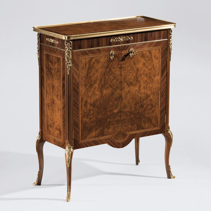 French Louis XV Style Side Cabinet