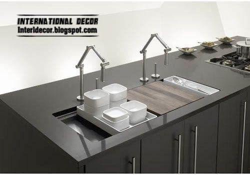 Double Granitek Black Kitchen Sink