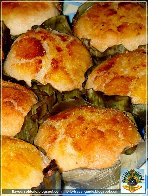 authentic bibingka cake from the Philippines, using glutinous rice flour. Hello Rob Schneider's mom ! (note- use thin strips of coconut, not finely grated or the butter won't stick)