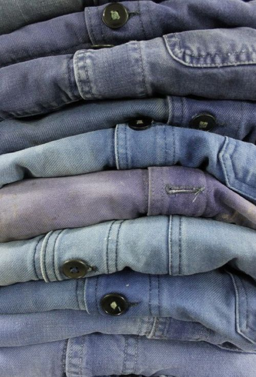 Pile on the denim