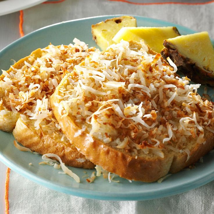 Coconut French Toast Recipe -Coated with coconut, these special slices are from…