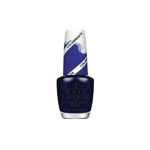 OPI Nail Polish Lacquer - Color Paints - Indigo Motif #P25