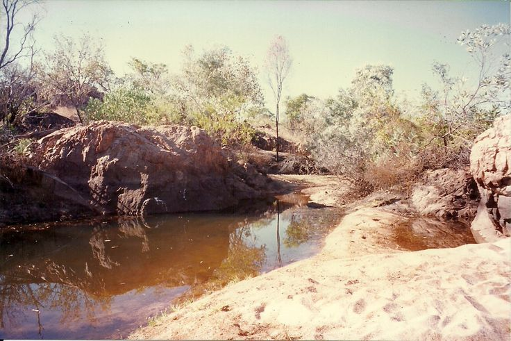 Waterhole in Katherine, Northern Territory - 1996