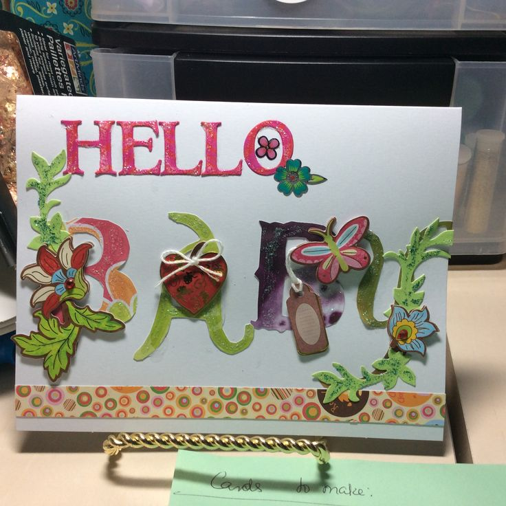 17 Best Images About Cards I Made Using Dollar Tree