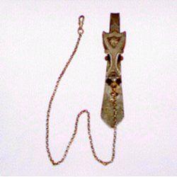Descrizione : Chatelaine porta-orologi in argento. Punzone Orafo RD. epoca 1815