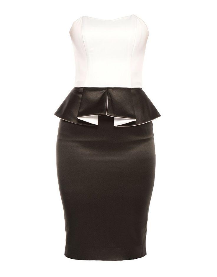 IN LOVE AGAIN | Jennifer Dress in Black and White - - Style36