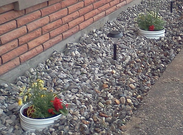 Decorative Yard Drainage : Best images about dry creek bed french drain on