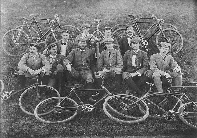 Glorious Vintage Photos of Early Australian Bike Culture from the Beginning of the 20th Century | Brain Pickings