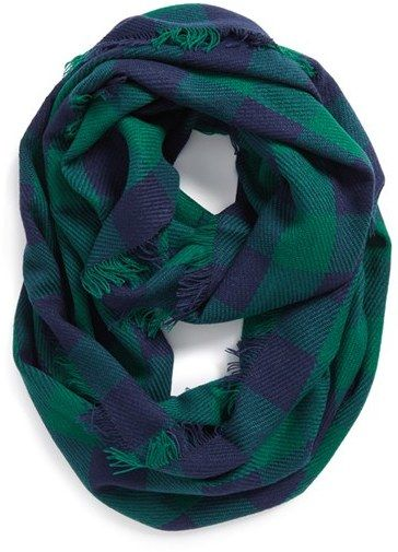 Steve Madden Buffalo Plaid Infinity Blanket Scarf | The Ultimate Christmas Gift Guide