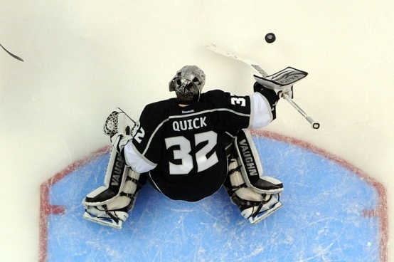 "NHL "" National Hockey League ""player Jonathan Quick 32"