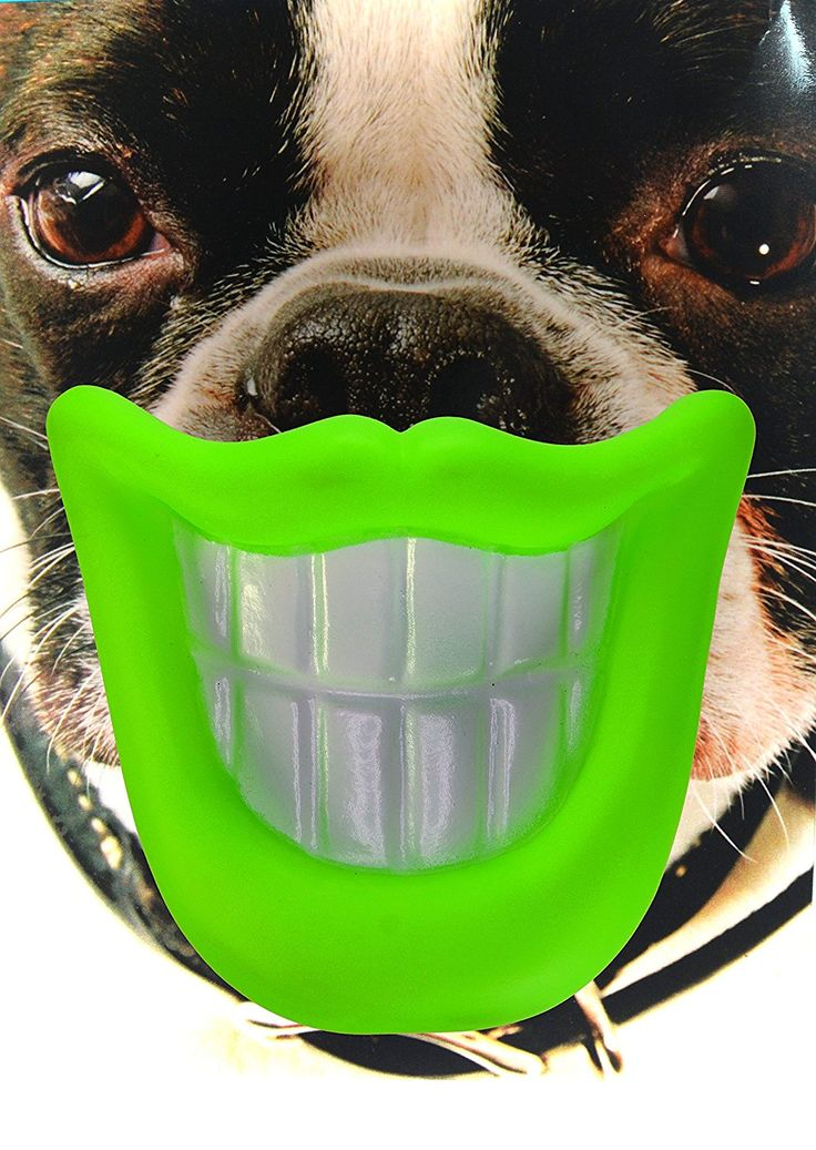 Kseven dog mouth toys big lip silicon rubber smile teeth