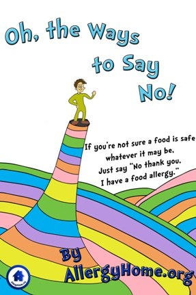 It is what it is, a food allergy, we take good care of ourselves constantly. Please share this with your friends, they give us support, they can keep us safe, some do report. Pass this along to all that you know so awareness and understanding can go go go.....