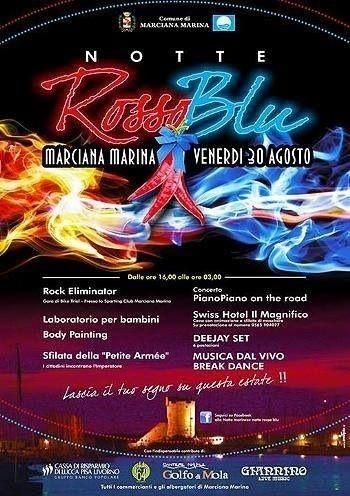 #Notte #rossablu a Marciana Marina oggi a partire dalle 16 #djset #musica #bancarelle #giochi per bambini... http://www.hotelilio.com/it/isola-d-elba/eventi.php