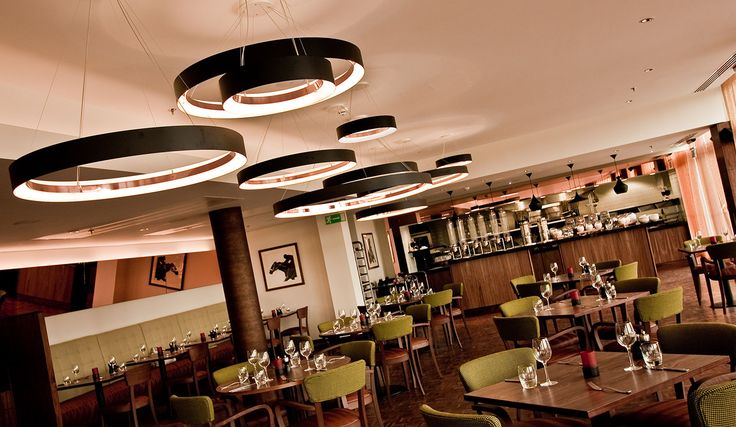 LINGFIELD Pendants by Optelma. #Pendants #Lighting #LightingDesign #Architecture #FeatureLighting #LED #Dining #Restaurant