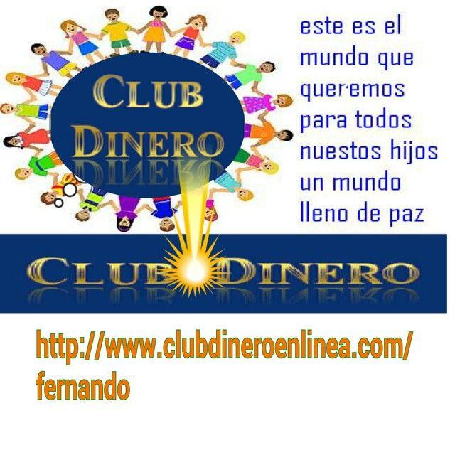 En Clubdineroenlinea - Club Dinero - CDEL lo pensamos, lo decimos y lo demostramos con Compromiso, Determinación, Entrega y Libertad, vamos Todos a Una para Avanzar en Equipo y generar varios ingresos con Trabajo en Equipo y Sinergia.http://www.clubdineroenlinea.com/fernando