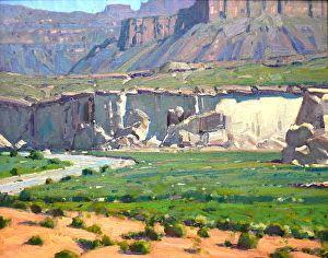 WHITE CLIFFS OF GLEN CANYON by Robert Goldman in the FASO Daily Art Show http://dailyartshow.faso.com/20150625/1792897