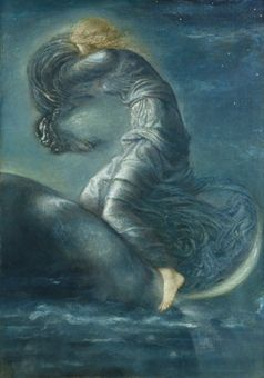 23 best alibris coupons images on pinterest coupons coupon luna by sir edward coley burne jones fandeluxe Gallery