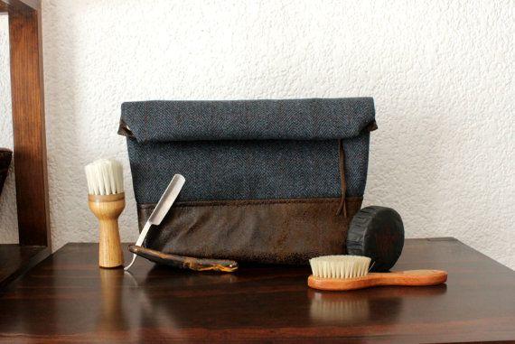 Le cadeau parfait pour votre petit ami, mari, meilleur ami, frère, groomsmens, etc..  Ce sac de toilette est très utile et moderne. Vous pouvez