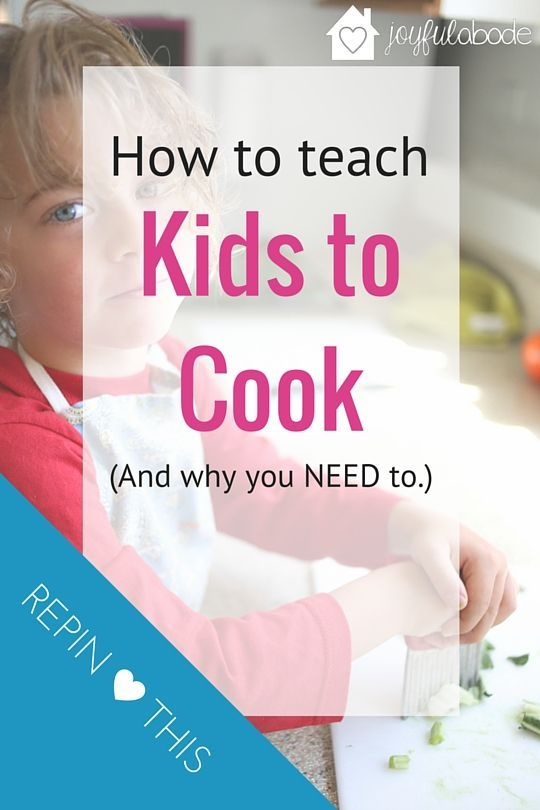 How to teach kids to help cook in the kitchen. Have special one-on-one time with each kid to do a special cooking project! Great idea for how to teach kids to cook.