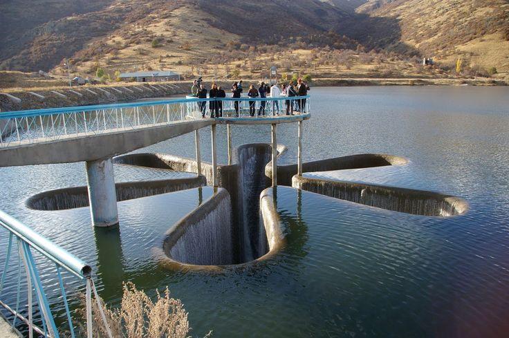 Star Shaped Spillway. Armenia