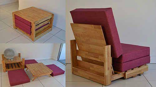 Furniture rumah multifungsi untuk ruangan kecil