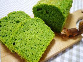 「ふわふわほうれん草パウンド」Kiki   お菓子・パンのレシピや作り方【corecle*コレクル】