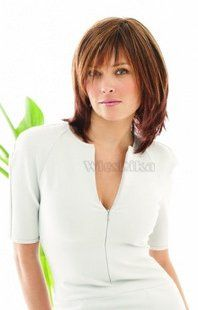 short straight wig office lady hairstyles Blonde Wig