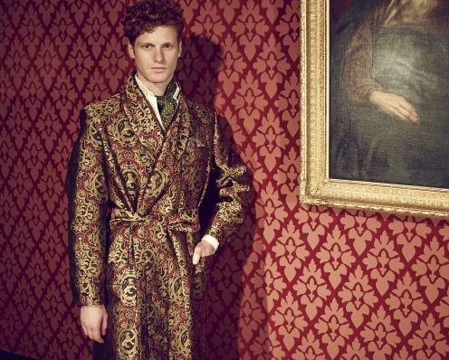 Fashion Editorial Male Victorian Style